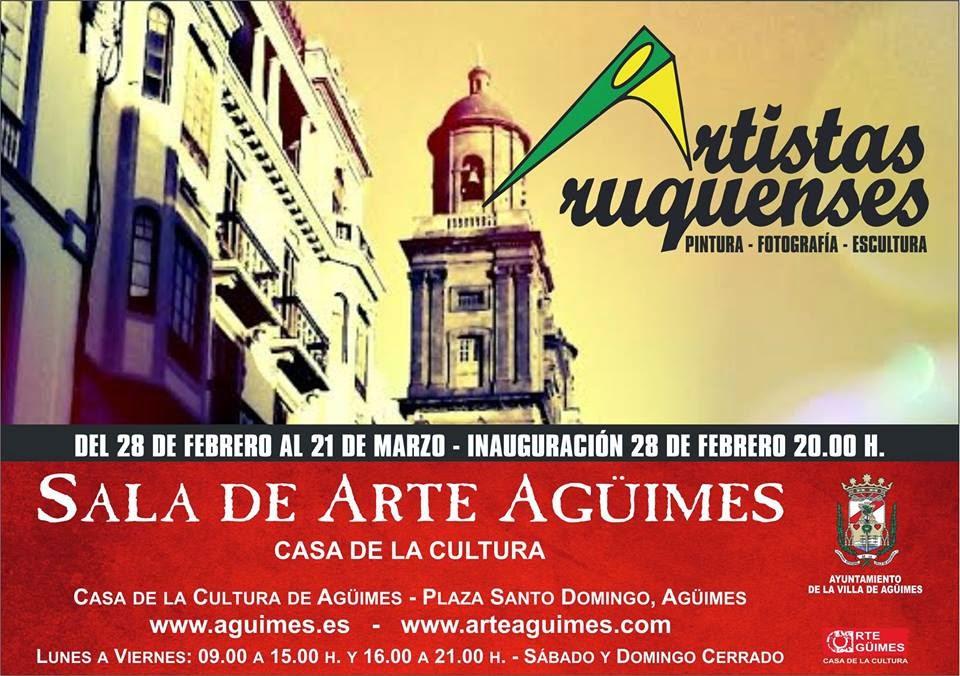 """Artistas Aruquenses"" en la Sala de Arte Agüimes"