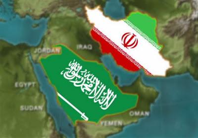 Iran vs Arab Saudi (ilustrasi irananders.com)