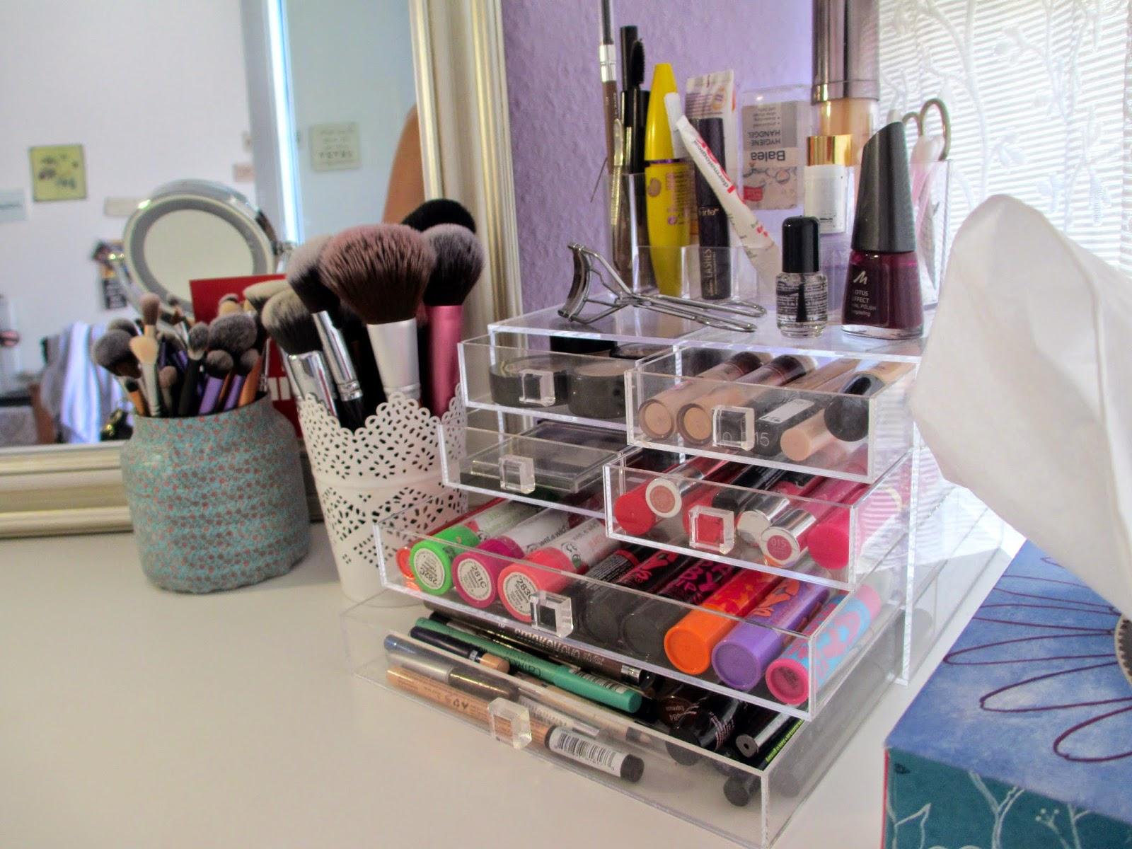 Sophies addictions: meine make up kollektion / aufbewahrung