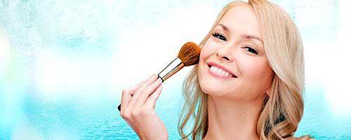 makeup piel sensible