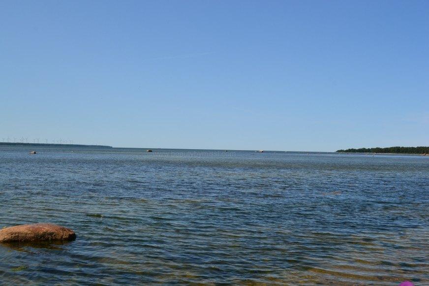 Laulasmaa beach Harjumaa, Estonia