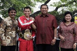 ka kwarnas dan Pramuka Utama Kak Adyaksa dan kak SBY