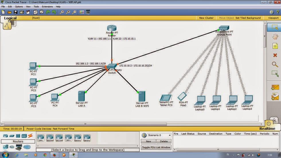 Download Cisco Packet Tracer Terbaru versi 6.0.1 Update 2014