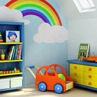 Canto do feng shui by cris ventura 11 13 for Rainbow kids room