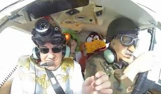 A second Harlem Shake video has been filmed during a flight