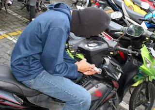 5 Cara Jitu Terhindar Dari Pencurian Motor