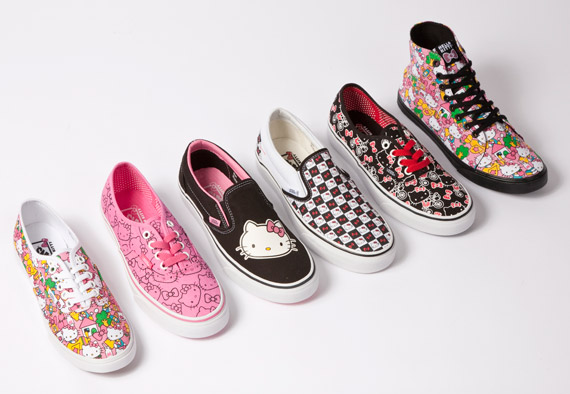 hello kitty vans shoes. Vans x Hello Kitty Collection