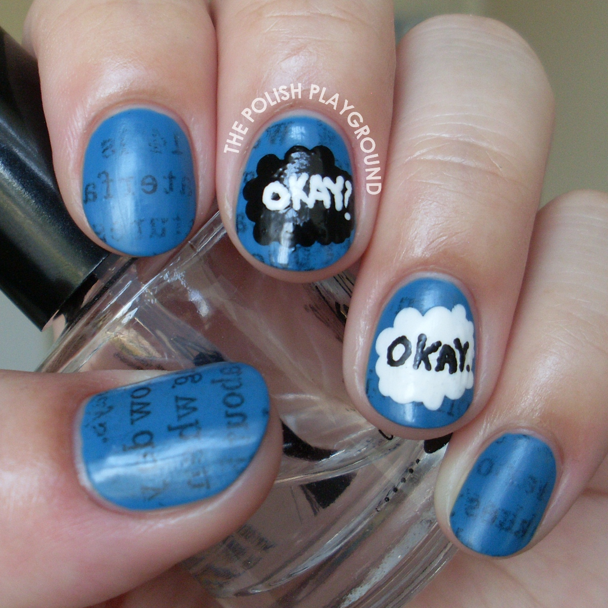 The Fault In Our Stars Book Inspired Nail Art