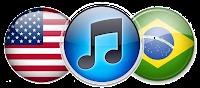 Itunes Store USA e Brasileira