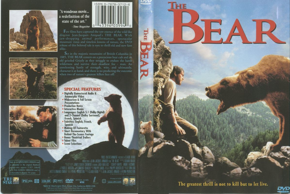 bear spank dvd