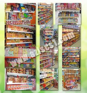 Rak Coklat di supermarket