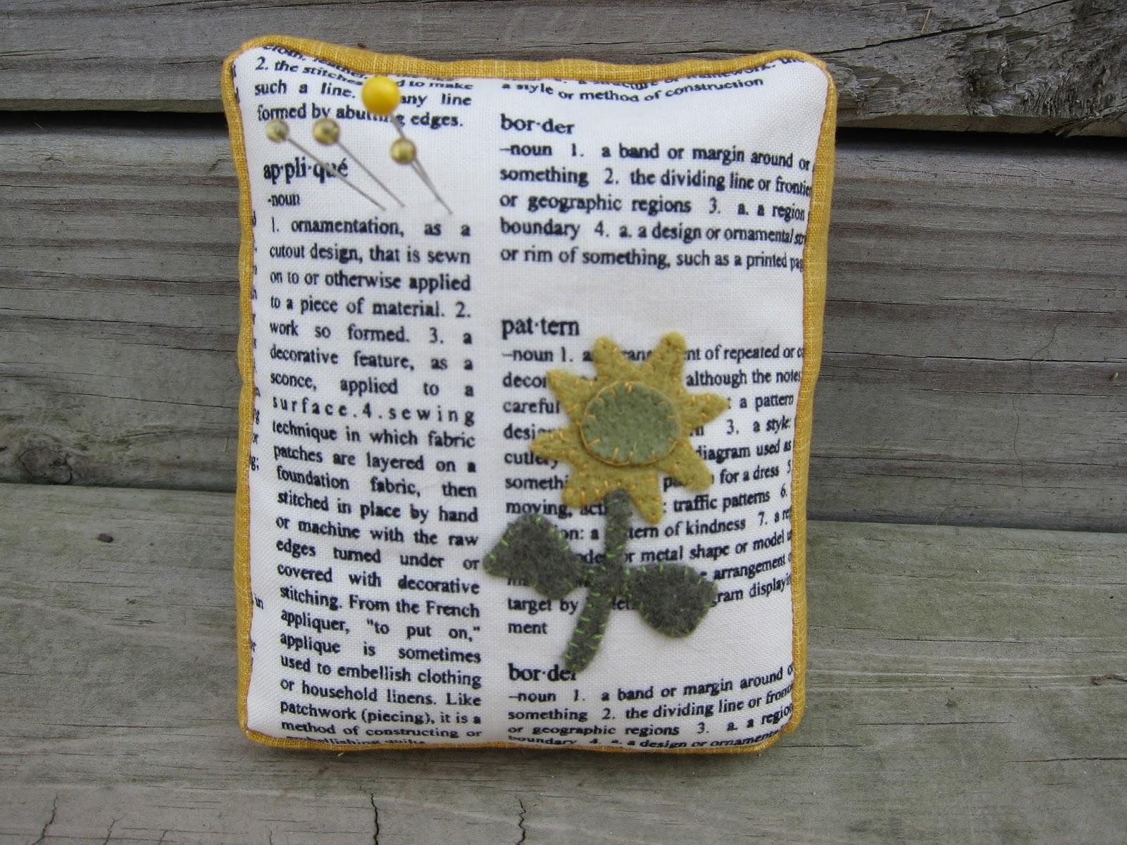 Krislovesfabric Pin It Pin Cushion Blog Hop My Day
