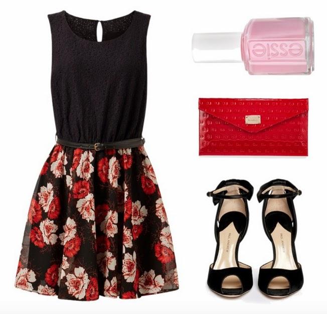 dark-flowers-pink-red-heels