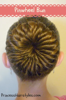 how to make a ballet bun with long hair