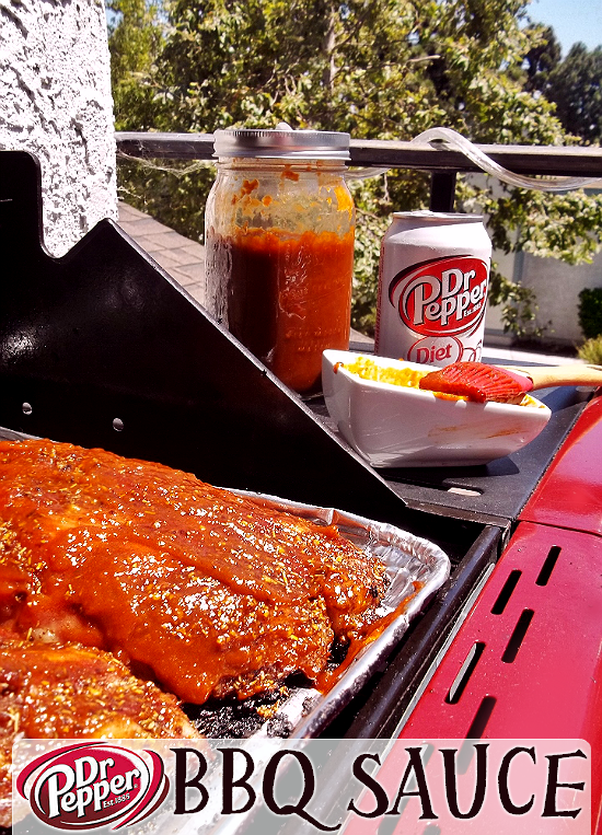 Smokey Dr. Pepper BBQ Sauce With Chipotle- Click For Recipe