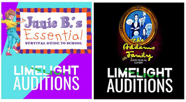 THIS MONTH'S MAIN SITE SPONSOR:  Studio 3 / Limelight Youth Theatre presents