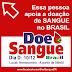 Dia Nacional do Doador de Sangue, campanha virtual