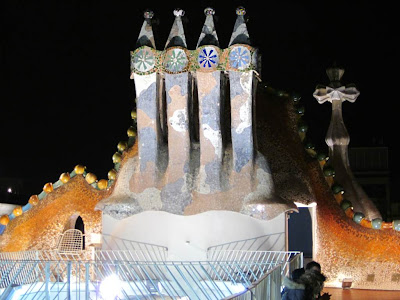 Casa Batlló designed by Gaudí in Barcelona