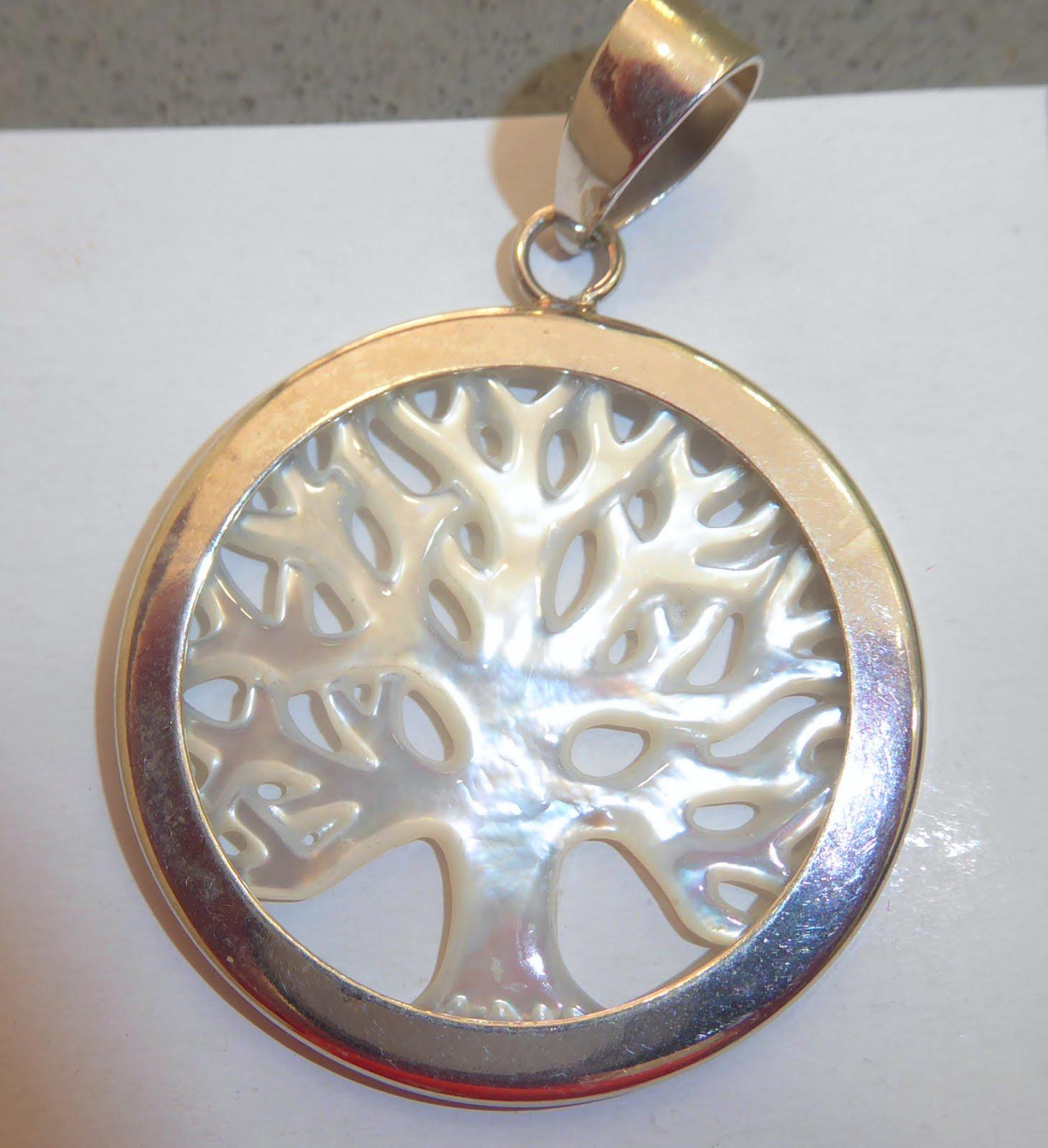 Colgante de plata del Árbol de la Vida