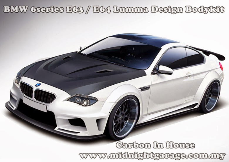 Bmw 645 Lumma Body Kit