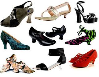 Conheça os tipos de calçados com Salto Carretel