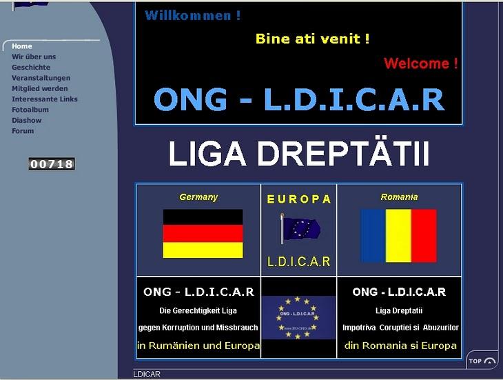 Menschenrechte Uberlingen,Bodensse Center LDICAR EUROPA Tochtergesellschaften in Deutschland