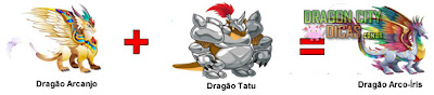 Dragão Arco-Íris - Cruzamentos