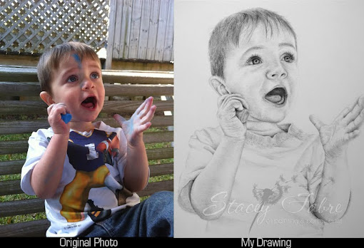 Portrait of Gavin Before and After