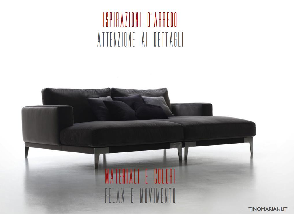 Ispirazioni d 39 arredo divani poltrone relax tino for Divani d arredo