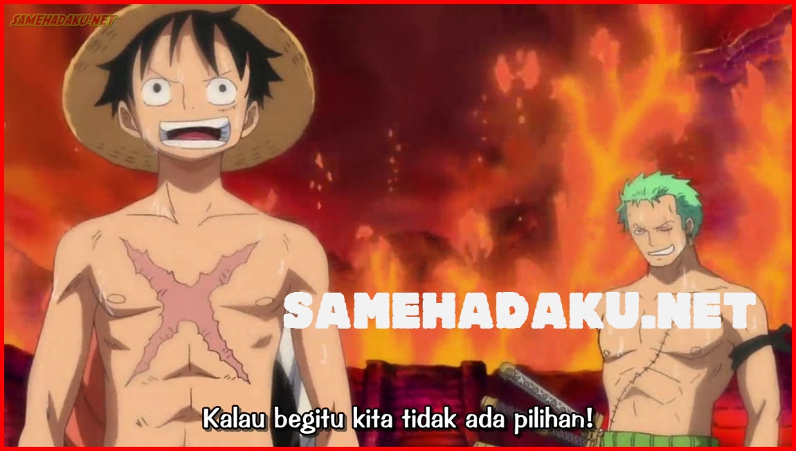 SAMEHADAKU.NET: One Piece 582 Subtitle Indonesia