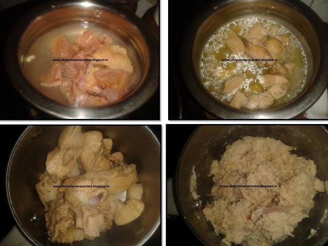 Chicken Omlette