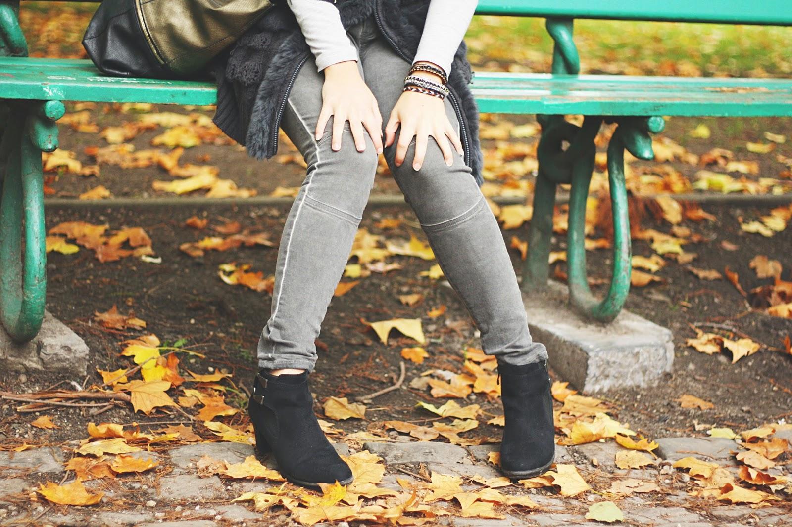 tenue outfit ootd tenue toute grise jardin botanique liège