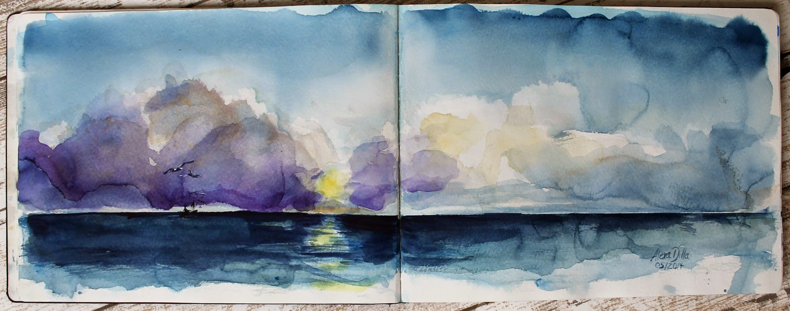 Zandvoort Sonnenuntergang