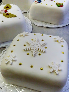 Christmas cakes from the White Gables