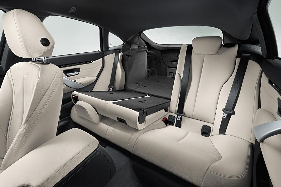 BMW 4 Series Gran Coupé M Sport (2014) Rear Seats