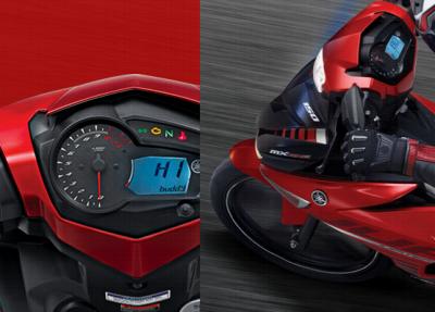 Motor Yamaha Jupiter MX King 150 - Digital humanic speedometer personal greeting