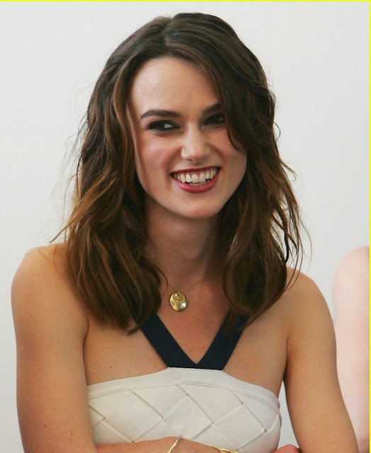 Keira Knightley Medium haircuts