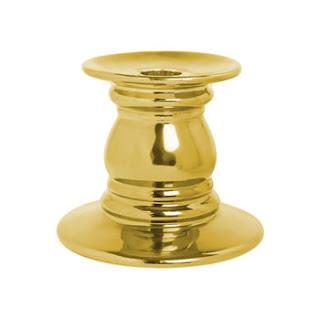 decoración de Navidad en oro