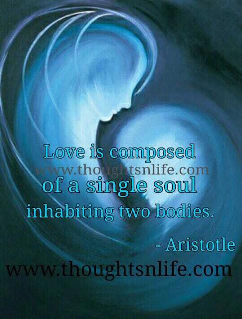 love quotes aristole
