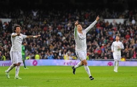 Liga Spanyol : Real Madrid 3 – 0 Celta Vigo