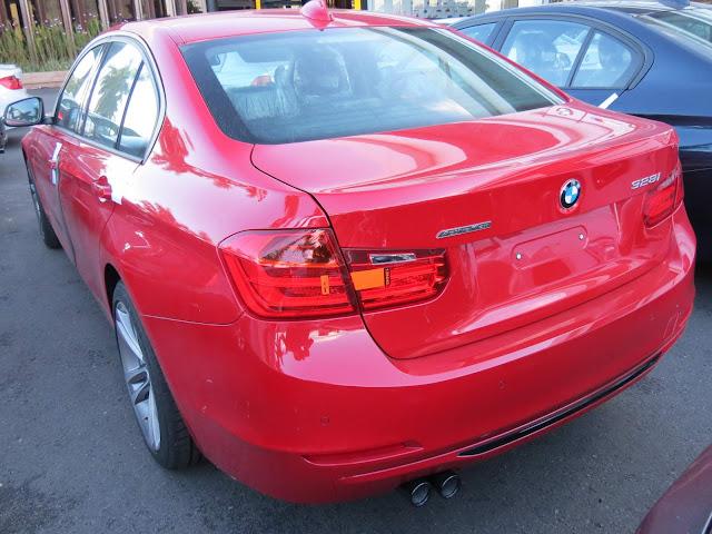 BMW 328i 2015 Active Flex Vermelha