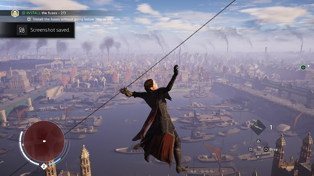 Assassin's Creed Syndicate evie frye rope launcher