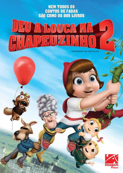 Deu a Louca na Chapeuzinho 2 3D Torrent – BluRay 1080p Dual Áudio