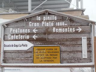 Estacion esqui de la Pinilla