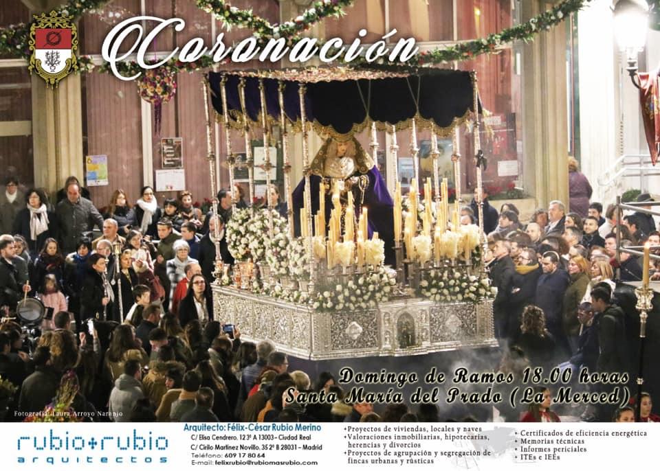 Cartel de la Hermandad de la Coronación de Espinas 2019