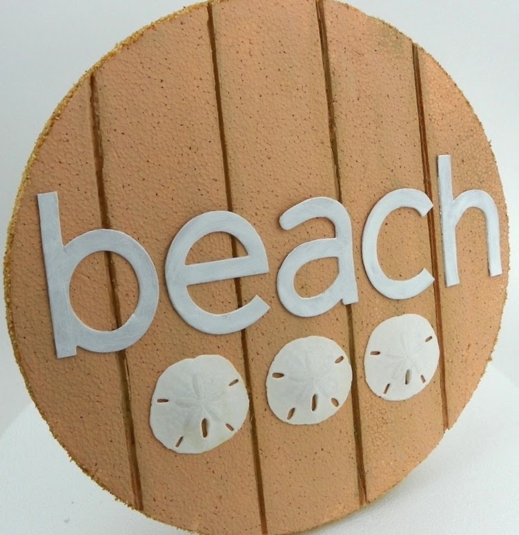smoothfoam beach sign