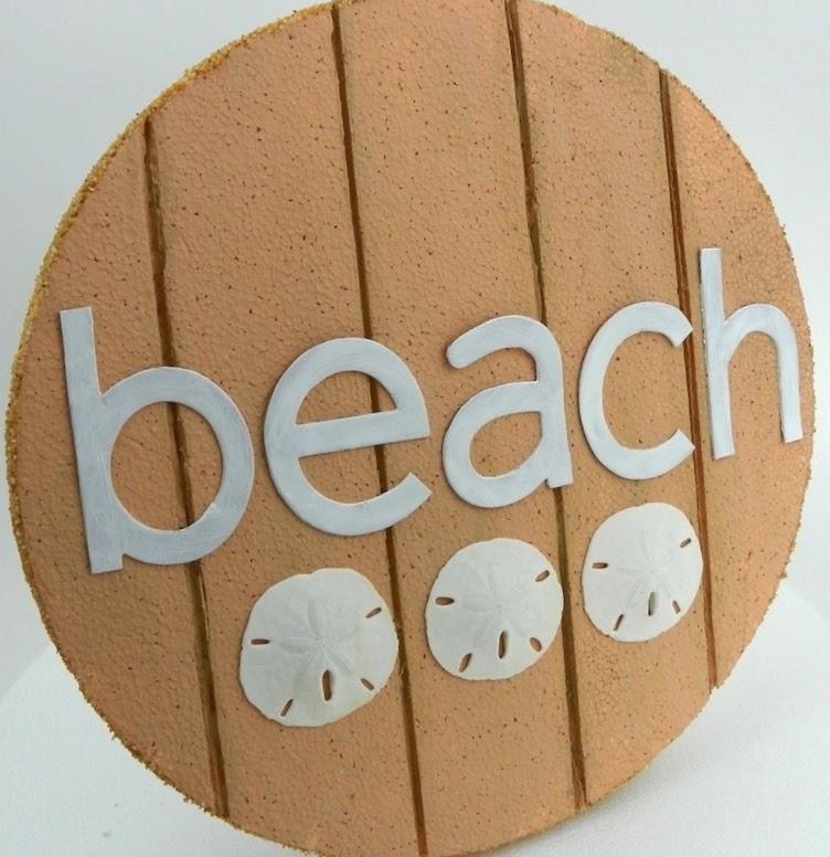 smoothfoam beach sign