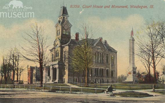 Lake county illinois history august 2011 lake county courthouse where the volo women were tried for rioting in the riding the rail trial acmegraph co postcard circa 1910 lcdm 61824 solutioingenieria Images