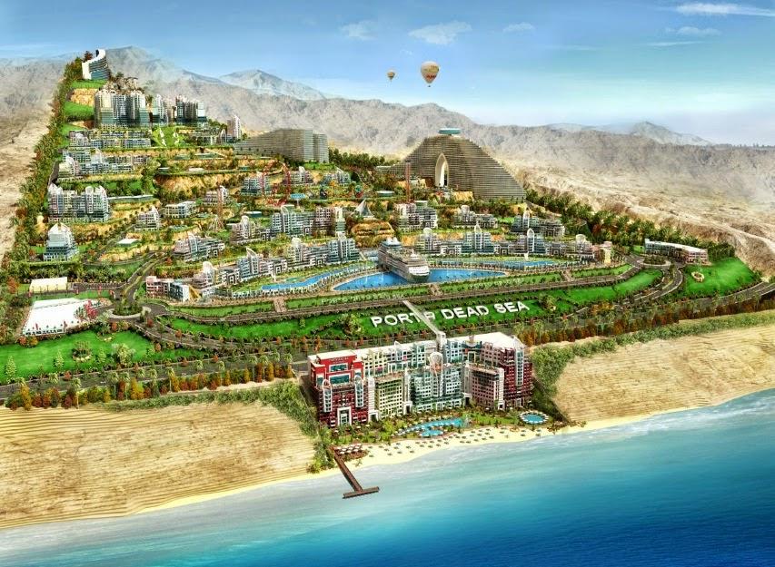 بورتو البحر الميت؛ مشروع عملاق، يوفر 3000 فرصة عمل للأردنيين