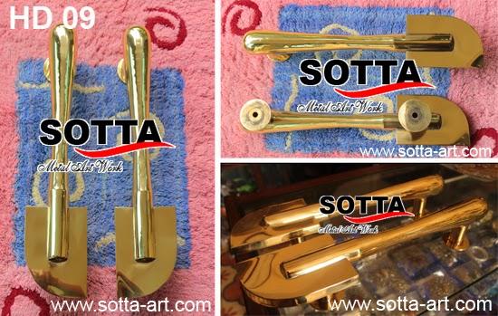 handle, handle pintu unik, handle kuningan, handle klasik, kerajinan kuningan